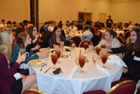 The Youth Leg banquet.