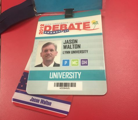 Dr. Walton shares a connection to presidential debates