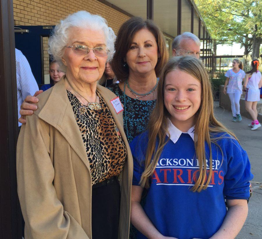 Families visit students on Grandparents Day
