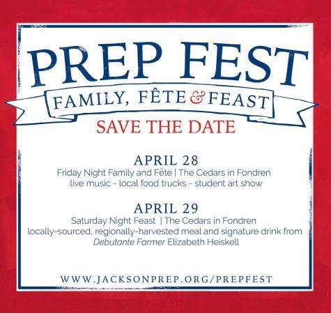 Food + Fun + Fundraising = Prep Fest
