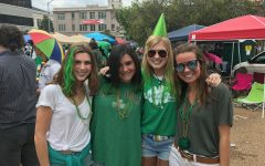 Jackson decks out in green for parade