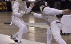 Junior Aidan Creel scores fencing victories