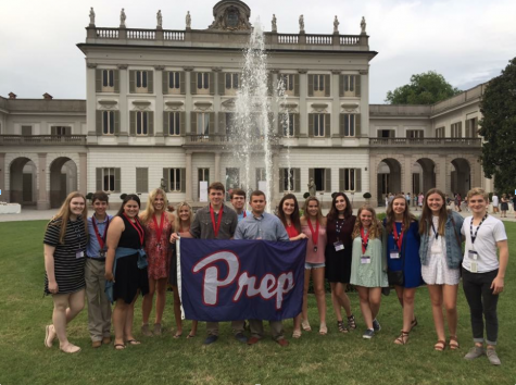 "Prep students put ""Global"" in Leadership Institute"