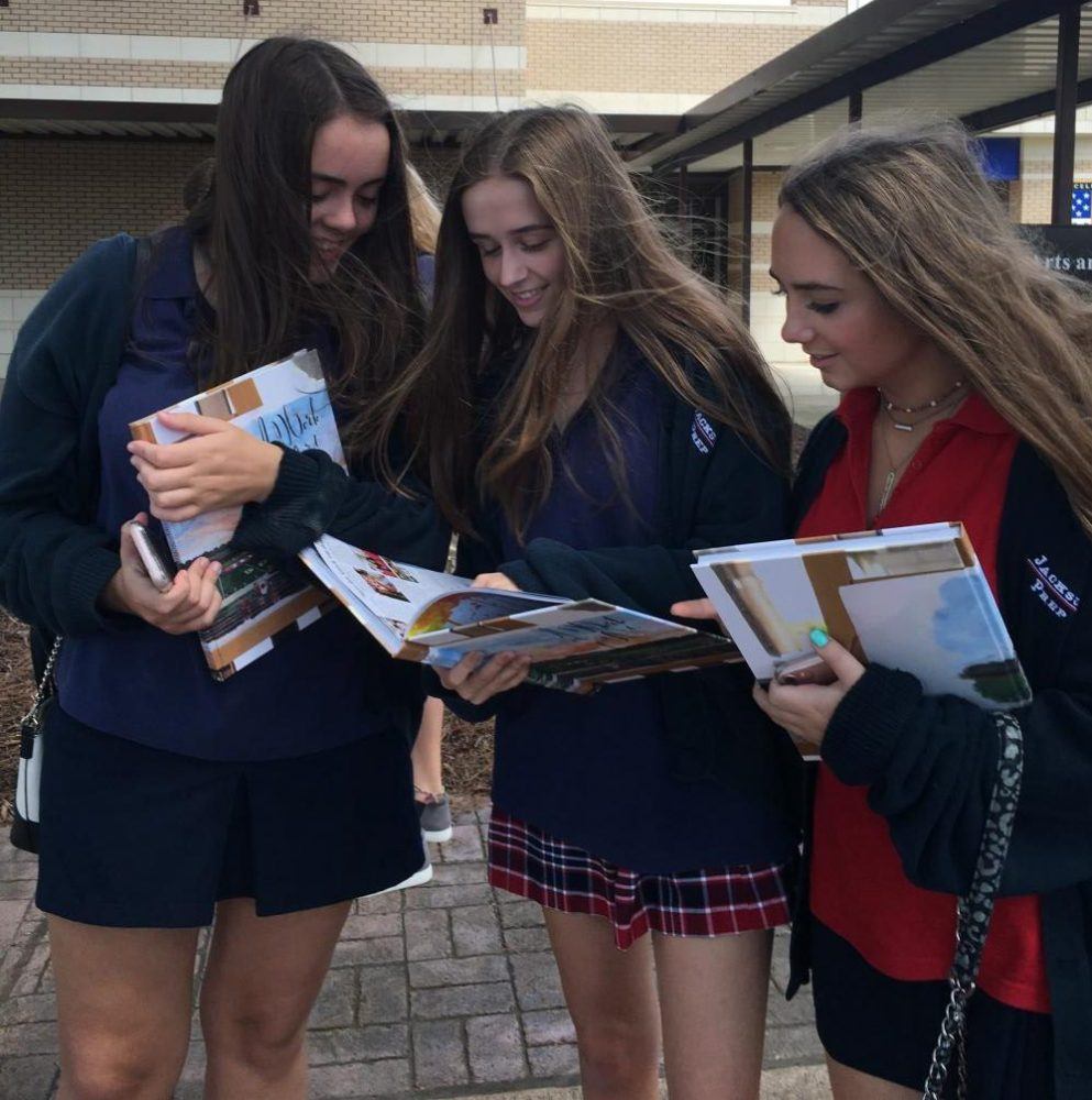 Newly distributed yearbook A Work of Art