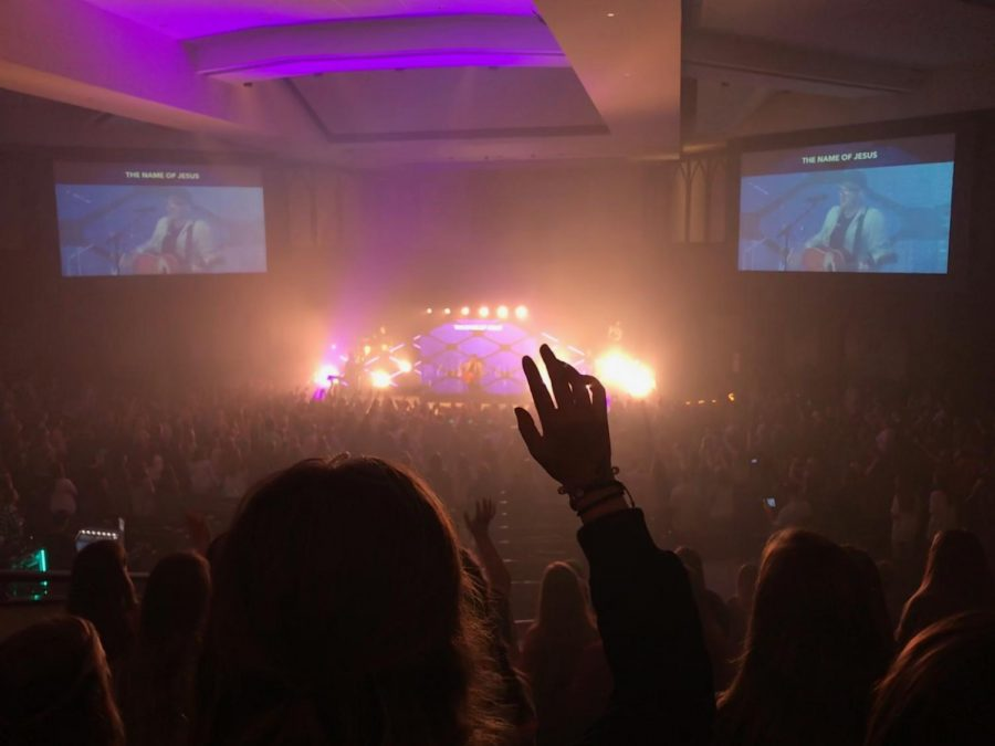 The crowd from the back of the sanctuary. Photo courtesy of Beth Ann Young.