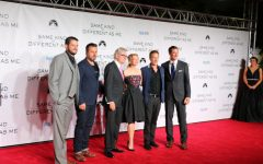 Producers and stars line up for the red carpet. Photo by Stewart McCullough.