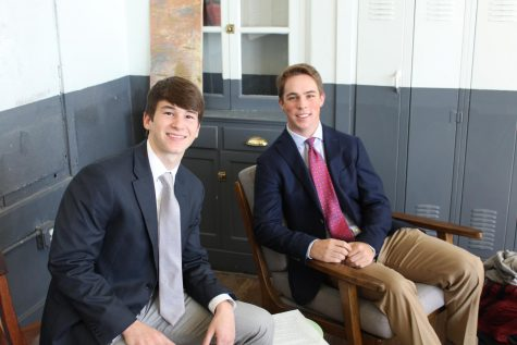 Shark Tank participants Morgan Williams and Parker Daily
