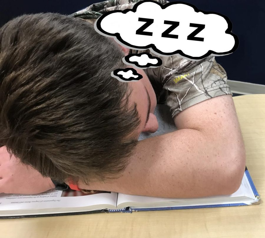 High schoolers are not catching their Zs