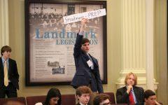 """""""Youth Leg"""" participants argue, vote, and legislate"""