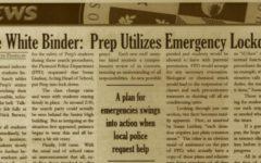 "FROM THE ARCHIVES (Vol. XXV, Issue 2 – Nov. 2004): ""Little White Binder: Prep Utilizes Emergency Lockdown"""