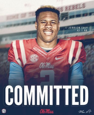 Prep star Jerrion Ealy commits to Ole Miss for football, baseball