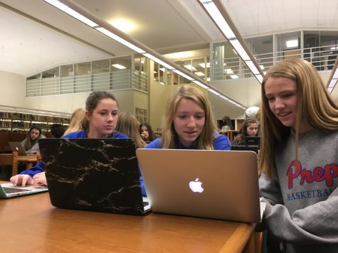 Delayed by snow, Hour of Code comes to Prep