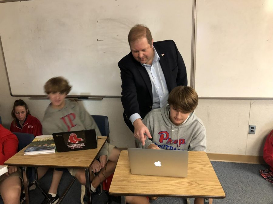 History teacher Kevin Robichaux is adored by many students