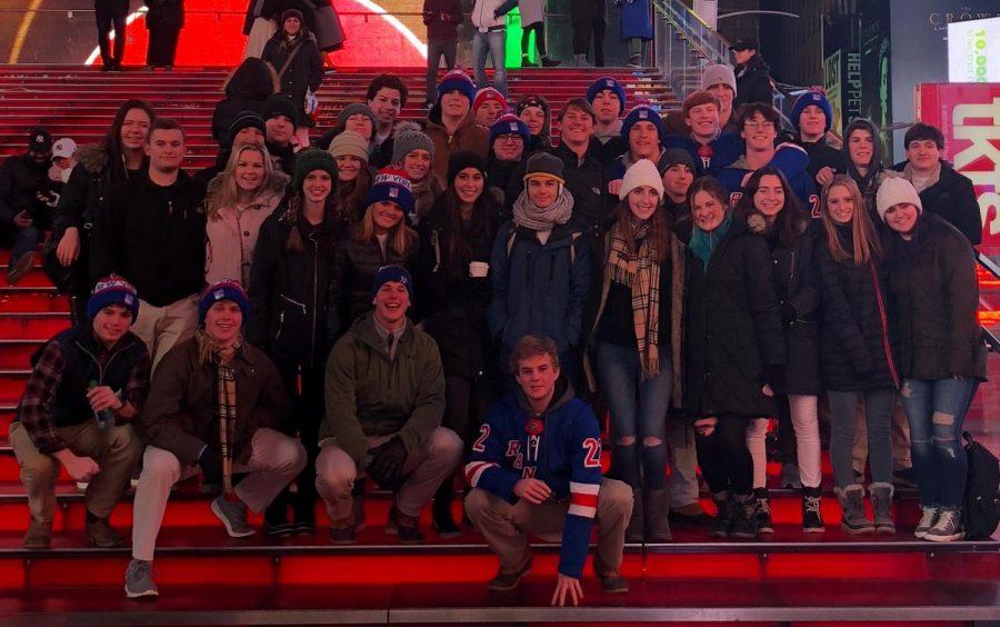 Senior Financial Management students explore New York City