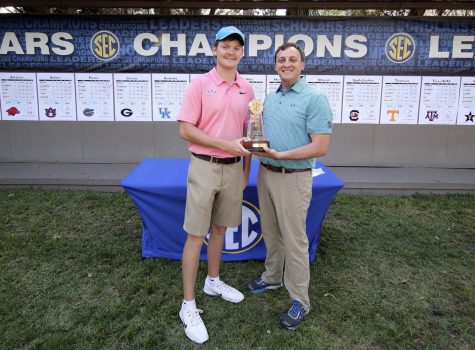 Prep alumnus Cecil Wegener finishes in 2nd at SEC golf championship