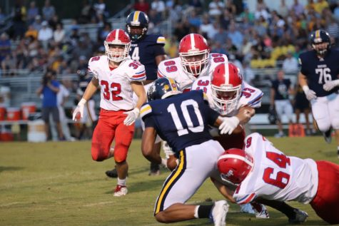Patriots stampede through Greenwood