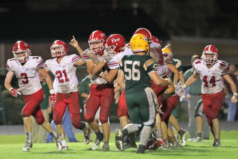 Patriots stampede through Greenwood 41-0