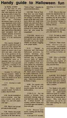 "FROM THE ARCHIVES (Vol. 1, No. VII – June 1971): ""Drill team kicks off"""