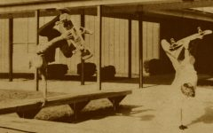 """FROM THE ARCHIVES (Vol. XVII, No.1 – Oct. 1986): """"Skateboarders attract attention"""""""