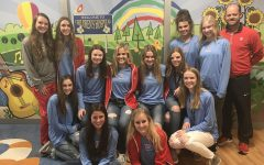 Varsity basketball girls spread joy at children's hospital