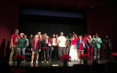 Faculty Christmas show kicks off Christmas break