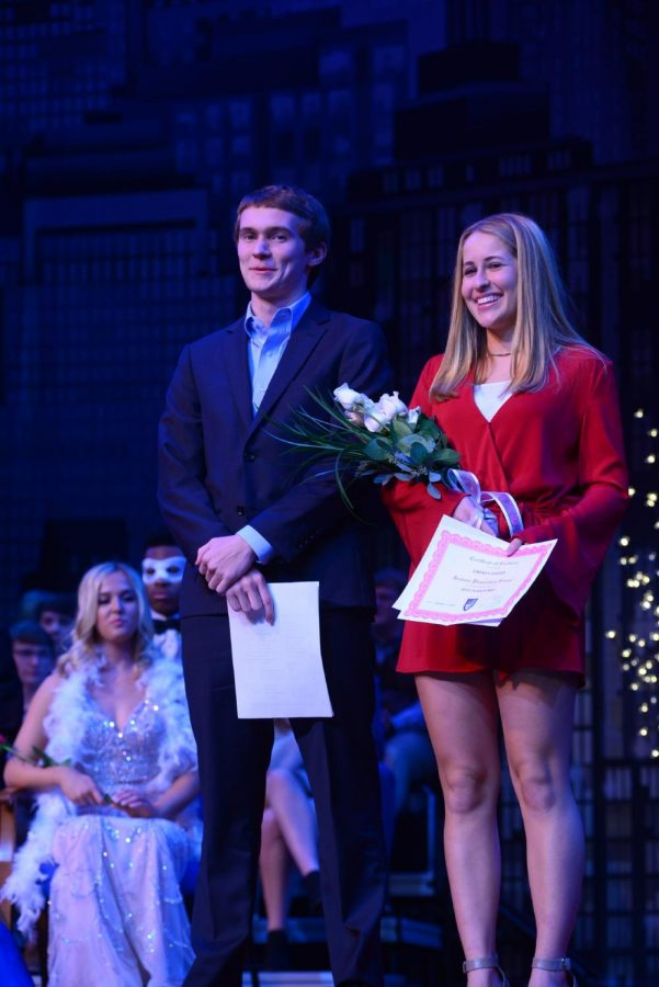 Mr. and Miss Jackson Prep, Reece Davis and Emison Geiger.