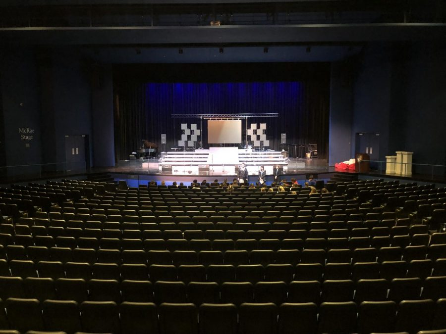 Prep's Fortenberry Auditorium is where the show choir stars will shine.