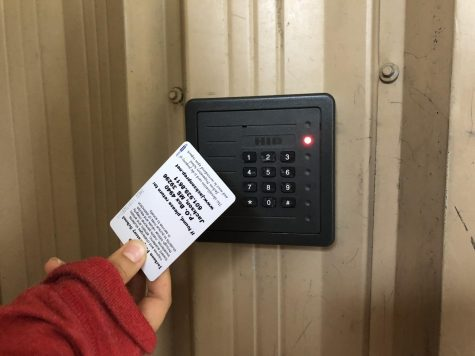 Card access helps secure buildings.