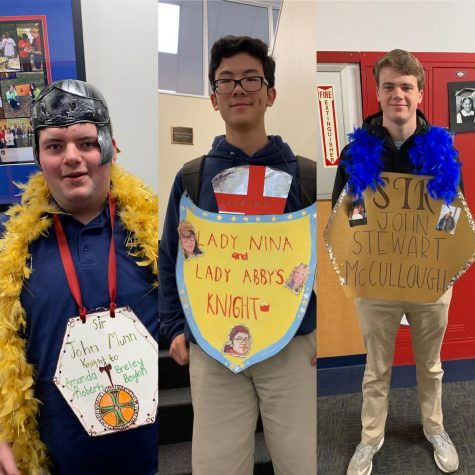 A week of knights as students take on chivalry project