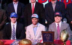 Three Patriots put pen to paper on National Signing Day