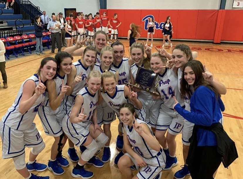 Junior High Girls Basketball takes home the title