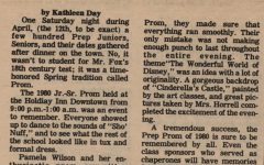 "FROM THE ARCHIVES (Vol. X, No. 6 – May 1980): ""Prom Fever Strikes"""