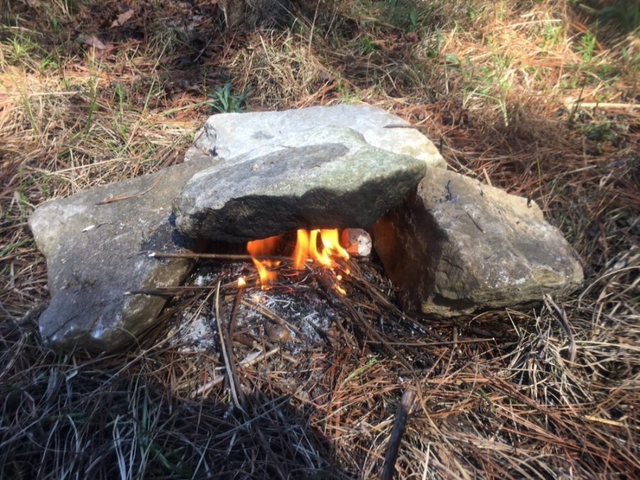 The stone/fire grill is one of the most prolific primitive technologies