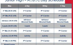 Junior high joins senior high in newly tweaked rotating schedule