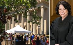 Justice Sonia Sotomayor speaks to students