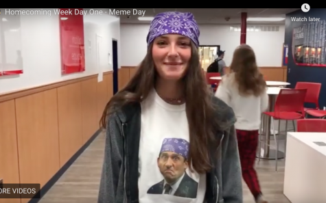 VIDEO - Homecoming Week Day 1: Meme Day!