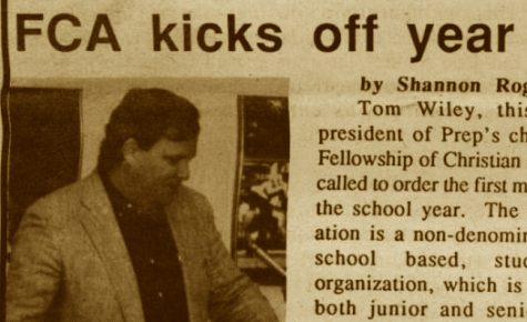 "FROM THE ARCHIVES (Vol. XXIII, No. 1 - Oct. 1992): ""FCA kicks off year with breakfast"""