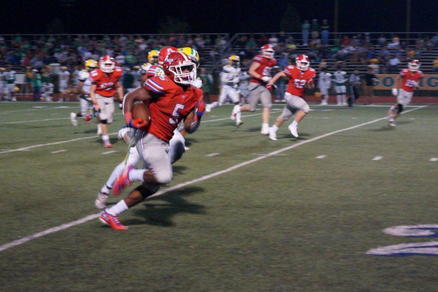 Matt Jones sprints for a 42-yard touchdown run
