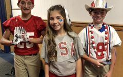 "Youngest students win ""USA"" dress-up competition"