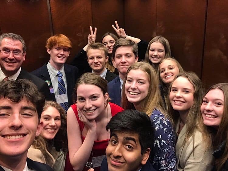Stuck in an elevator with Rep. Gregg Harper