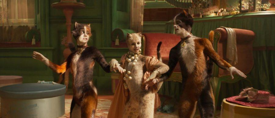 Three of the titular CGI cats