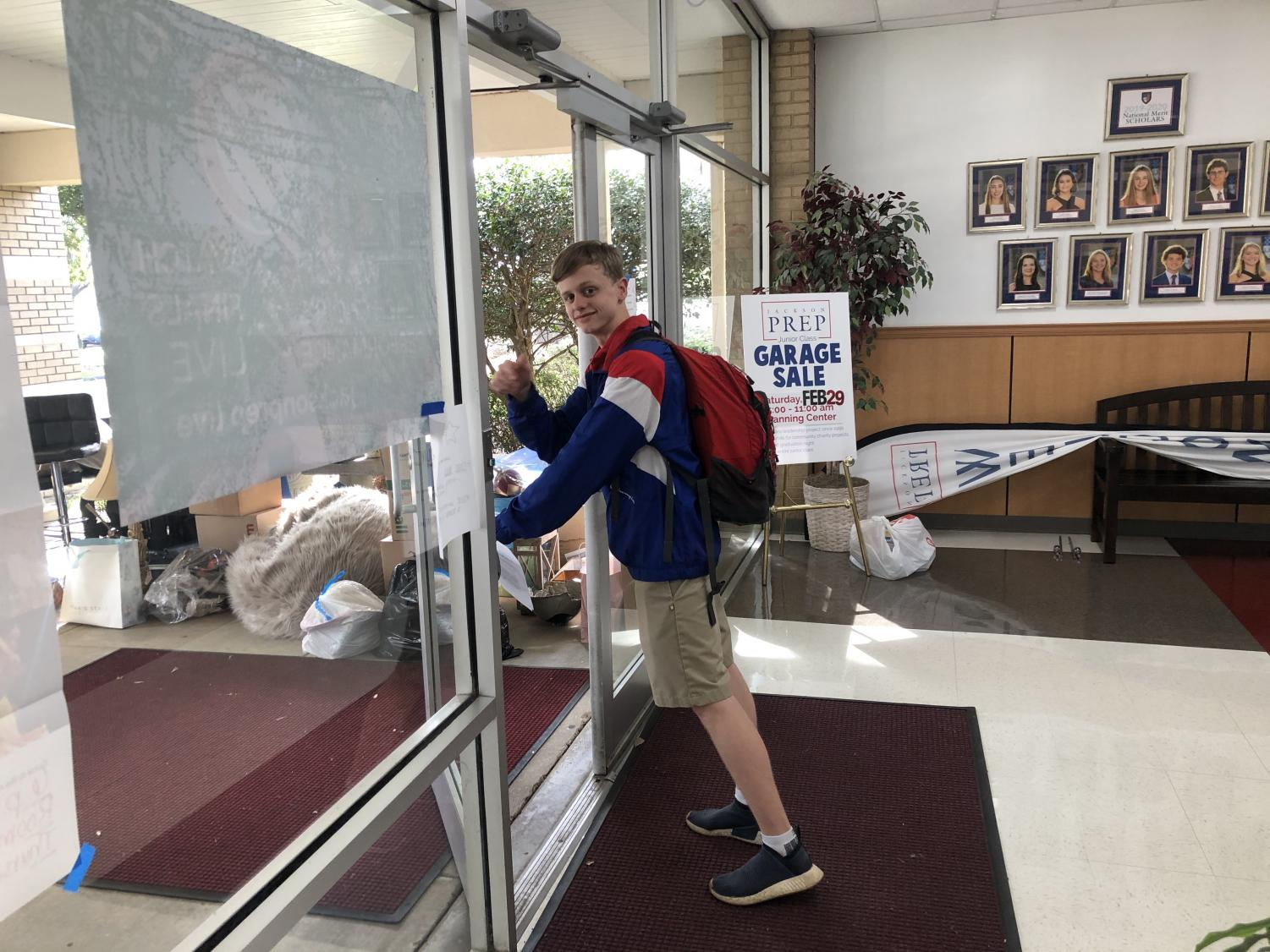 Senior Jimmy Underwood is outta here, courtesy of