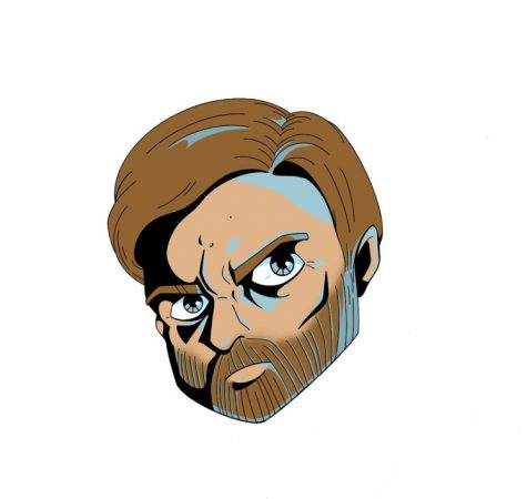 The head of the all powerful Obi Wan Kenobi, the best character from the Star Wars prequels.