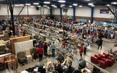 Junior class garage sale raises money for charity