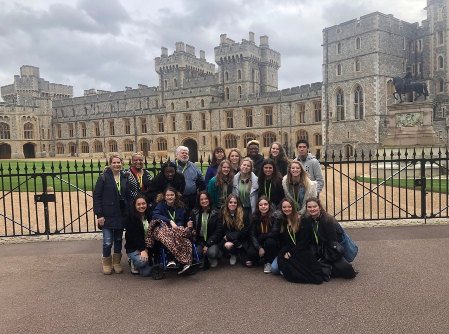 Students spend spring break in England and Scotland