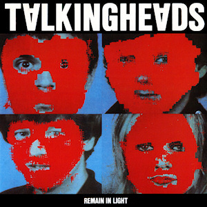 "The cover of ""Remain in Light,"" a 1980 Talking Heads album"