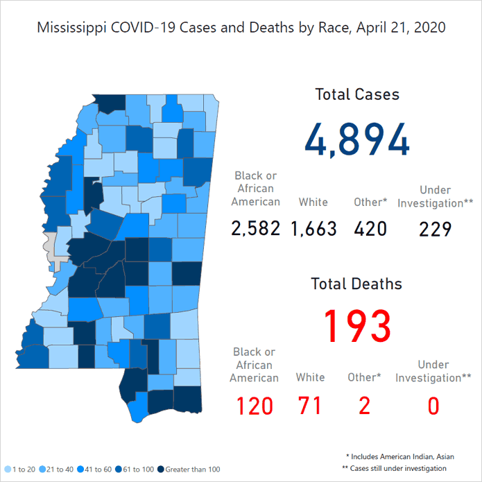 Mississippi begins to flatten the curve (COVID-19 Mississippi/Jackson update 4/23/20)