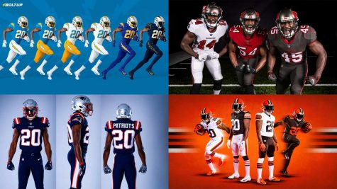 NFL teams raise eyebrows with new uniforms