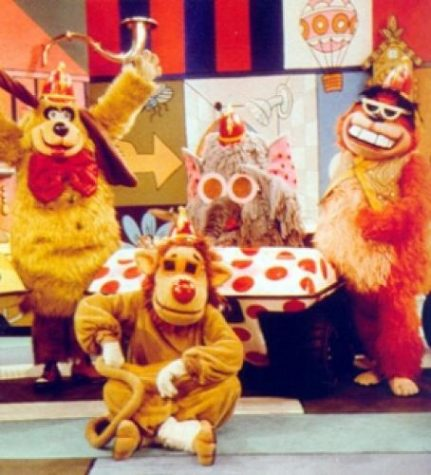 the original designs of The Banana Splits