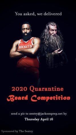 The Sentry's 2020 Quarantine Beard Competition